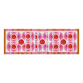ZINNIA Flower Show  -  Sensual Romance Print