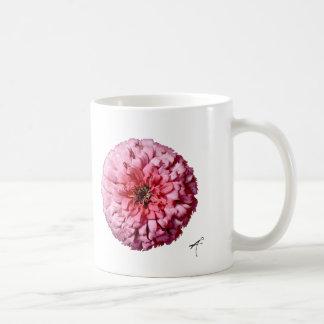 Zinnia Silhouette Mug