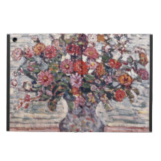 Zinnias By Maurice Prendergast, Vintage Floral Art Ipad Air Case at Zazzle