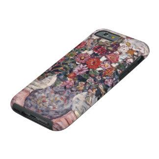 Zinnias de Maurice Prendergast, arte floral del Funda Resistente iPhone 6