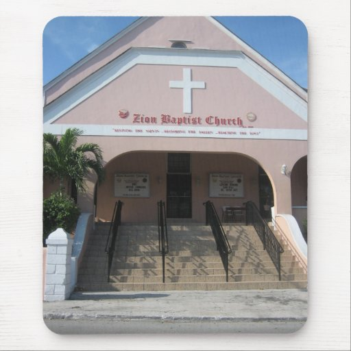 Zion Baptist Church Mouse Pad