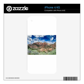 zion canyon national park decal for the iPhone 4