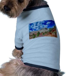 zion canyon national park pet t-shirt