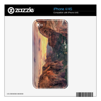 Zion Canyon National Park iPhone 4S Skins