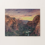 Zion Canyon National Park Jigsaw Puzzle