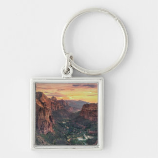 Zion Canyon National Park Keychain