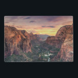 "Zion Canyon National Park Placemat<br><div class=""desc"">USA,  Utah,  Zion National Park,  Zion Canyon</div>"
