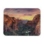 Zion Canyon National Park Rectangle Magnets