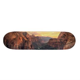 Zion Canyon National Park Skateboard Deck