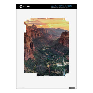 Zion Canyon National Park Skin For iPad 3
