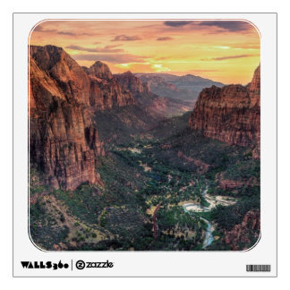 Zion Canyon National Park Wall Sticker