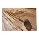 Zion Canyon Wall I Abstract Nature Photography Placemat