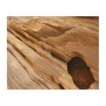 Zion Canyon Wall I Abstract Nature Photography Wood Wall Decor