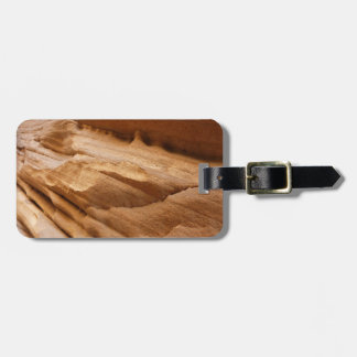 Zion Canyon Wall II Red Rock Abstract Photography Bag Tag