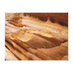 Zion Canyon Wall II Red Rock Abstract Photography Canvas Print