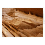 Zion Canyon Wall II Red Rock Abstract Photography Card