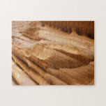 Zion Canyon Wall II Red Rock Abstract Photography Jigsaw Puzzle