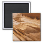 Zion Canyon Wall II Red Rock Abstract Photography Magnet
