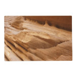 Zion Canyon Wall II Red Rock Abstract Photography Placemat