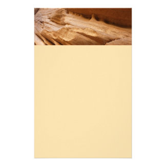 Zion Canyon Wall II Red Rock Abstract Photography Stationery