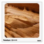 Zion Canyon Wall II Red Rock Abstract Photography Wall Sticker
