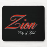Zion city of God Mouse Pads