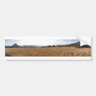Zion del oeste etiqueta de parachoque