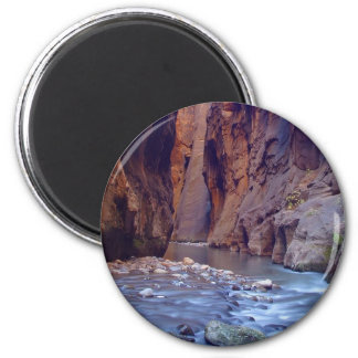 Zion estrecha el parque nacional imán redondo 5 cm