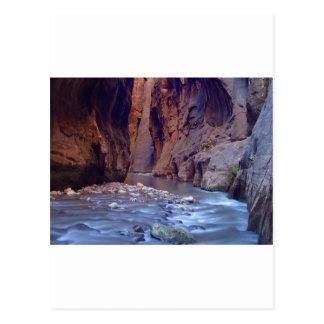 Zion estrecha el parque nacional postal