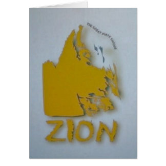 Zion-Great White Throne Greeting Card
