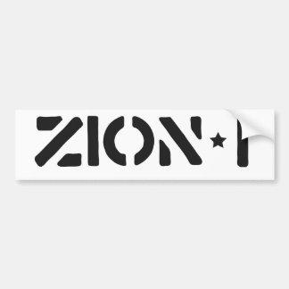 Zion-i Simple Bumper Stickers