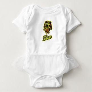 Zion. Iron Lion Zion HQ Edition Color Baby Bodysuit