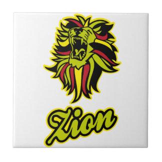 Zion. Iron Lion Zion HQ Edition Color Ceramic Tile