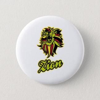 Zion. Iron Lion Zion HQ Edition Color Pinback Button