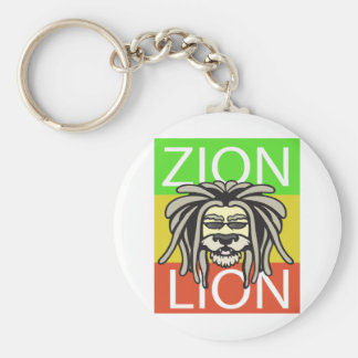 ZION LION KEYCHAIN