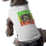 ZION LION PET T SHIRT