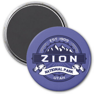 Zion Midnight 3 Inch Round Magnet