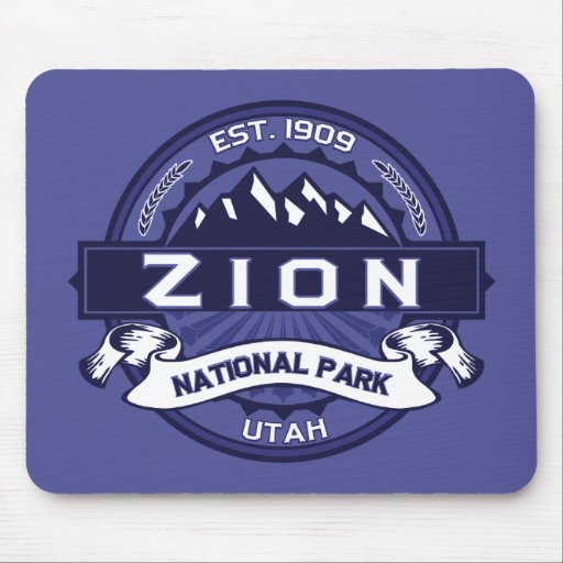 Zion Midnight Mouse Pad