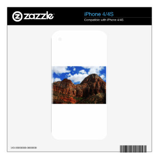 Zion Mountains National Park Decal For The iPhone 4