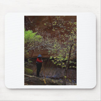 ZION NARROWS AUTUMN MOUSE PAD