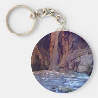 Zion Narrows National Park Keychain