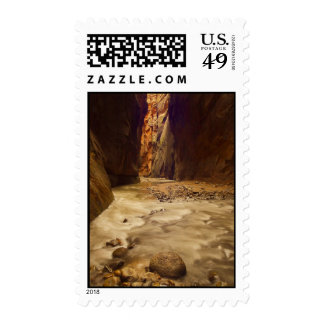 Zion Narrows Postage Stamps