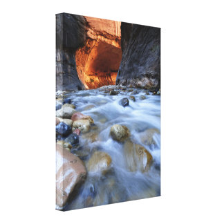 "Zion Narrows Print on Wrapped Canvas 18"" x 24"""