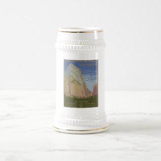 Zion National Park 1938 Springdale Utah Beer Stein