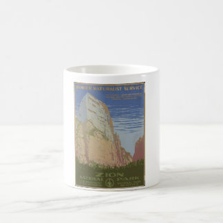 Zion National Park 1938 Springdale Utah Coffee Mug