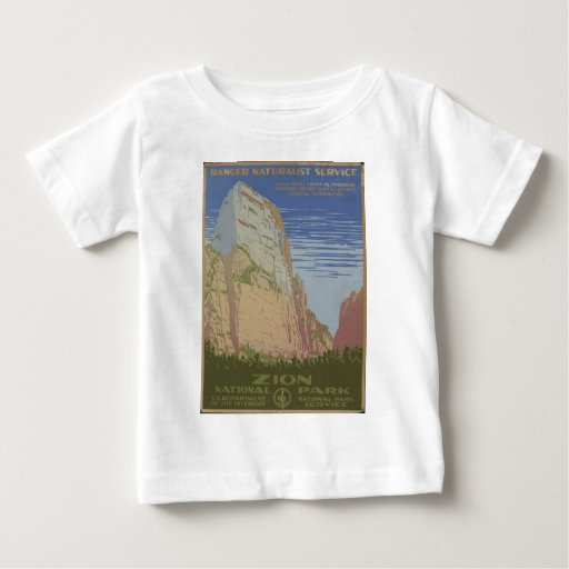 Zion National Park 1938 Springdale Utah Shirt