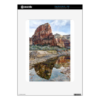 Zion National Park Angels Landing - Digital Paint Skin For iPad