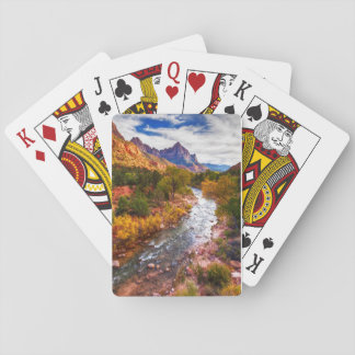 Zion National Park Autumn Splendor Playing Cards