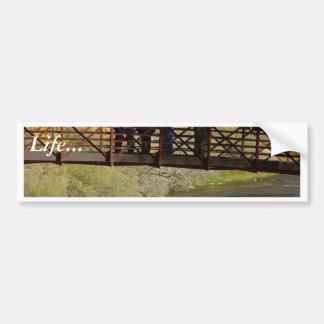 Zion National Park Bridges Streams Zion Bumper Stickers