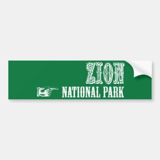 Zion National Park Bumper Stickers